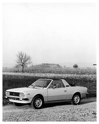 1975 Lancia Beta Spider ORIGINAL Factory Photo oua9211