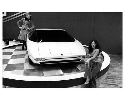 1975 Lamborghini Bravo ORIGINAL Factory Photo oua9239