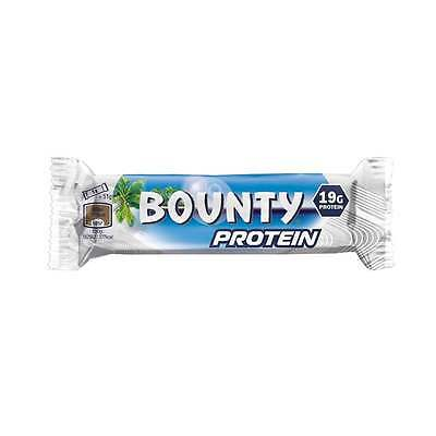 Bounty Protein Bars 18 x 51g. 19 grams of protein per bar