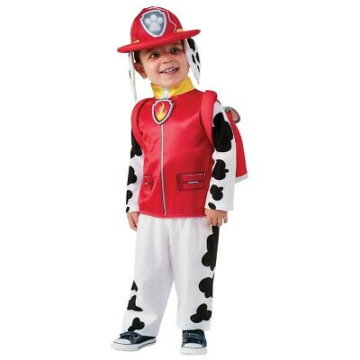 Marshall Costume Paw Patrol Halloween Fancy Dress