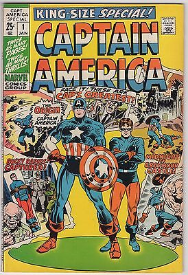 Captain America Annual #1  King Size Special      VFN/NM