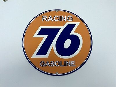 76 Union Oil gasoline racing vintage sign
