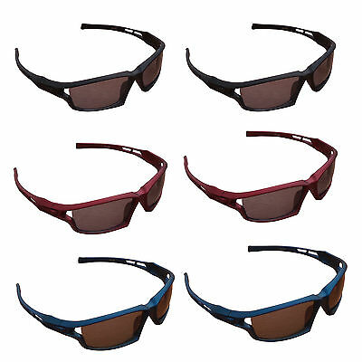 2 x ACCLAIM A1 Cricket Sports Sunglasses Plastic Frame Polycarbonate Lens & Case