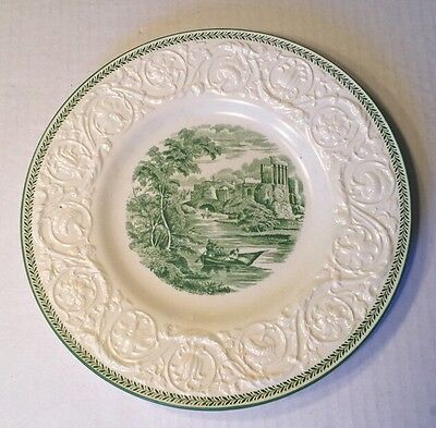One Wedgwood Patrician Torbay 10 3/8 Inch Dinner Plate Made In England