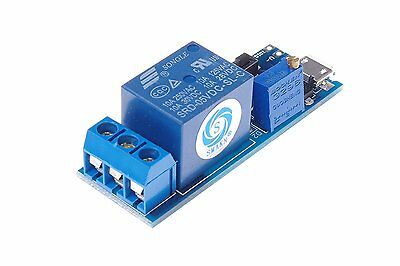 SMAKN® Wide voltage 5V-30V Power Supply Adjustable Trigger Delay Time Relay