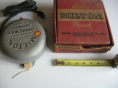 "Vintage Milton No. 805 Drive Up Bell Gas Service Station Nos Oil Gas ""nice"""