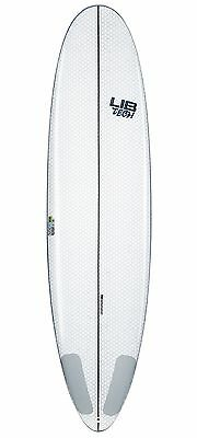 LibTech Pickup Stick Surfboard (White, 7') Mens Unisex Surfing Watersports New