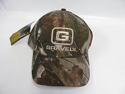 Gravely Lawn Mower One Size Fits Most Adjustable Camo Baseball Hat / Cap 880050