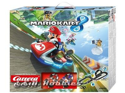 Carrera GO!!! Nintendo Mario Kart 8, 1/43 analog slot car race set 62361
