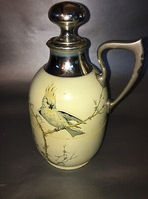 "Vintage Manning-Bowman Art Deco Carafe 8"" Tall"