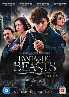 Fantastic Beasts and Where to Find Them DVD (2017) Eddie Redmayne