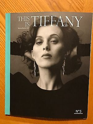 Tiffany & Co. Spring Summer 2017 Catalogue Catalog Book Brochure Pamphlet New