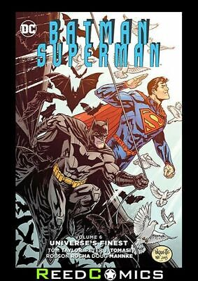 BATMAN SUPERMAN VOLUME 6 UNIVERSES FINEST HARDCOVER Collects #28-34 + Annual #3