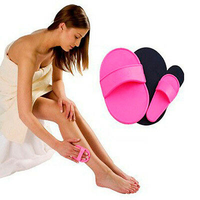 NEW Smooth Face Facial Upper Lip Arms Legs Hair Removal Exfoliator Pads Sets