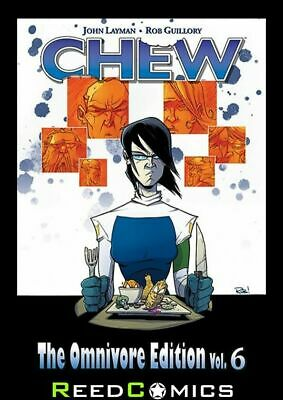 CHEW OMNIVORE EDITION VOLUME 6 OVERSIZED HARDCOVER New Hardback Collects #51-60