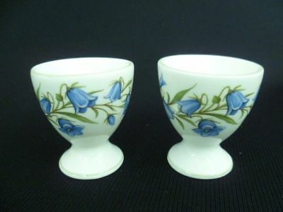 Crown Staffordshire Blue Bell Pair Of Egg Cups (A)