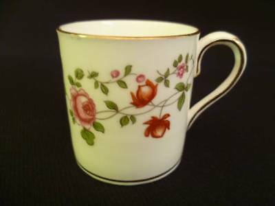Crown Staffordshire Floral Coffee Can (w)