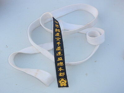 "Martial arts  ""White Belt"""