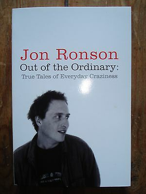Out of the Ordinary by Jon Ronson - New Paperback Book