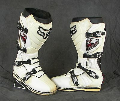 "FOX RACING ""F3 TRACE"" Motocross  ATV DIRT BIKE QUAD  MOTORCYCLE BOOTS MEN 8.5"