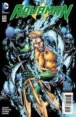 Aquaman (2011) #52 VF/NM Brett Booth Cover The New 52!