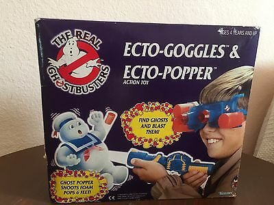 VINTAGE 80s KENNER ☆ THE REAL GHOSTBUSTERS ☆ ECTO GOGGLES TOY SET ☆ TOY RARE