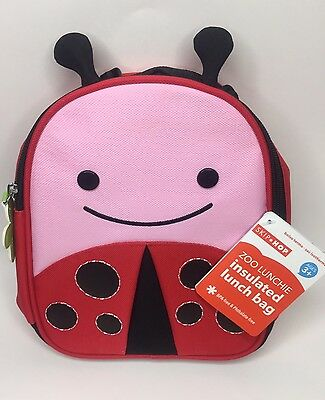 NEW Skip Hop Kids Zoo Lunchie Insulated Lunch Bag Red Ladybug