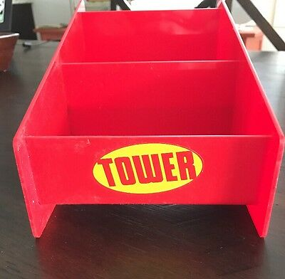 Vintage Tower Records CD Display Rare! Only One On eBay!