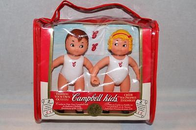 "1995 Campbell Soup Kids Collector Dolls 5"" Fibre Craft Dress Your Own Doll"