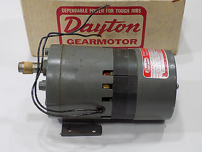 *NEW OLD STOCK* Dayton 3M138A  SHADED POLE GEARMOTOR 1/10 HP 115 V 60HZ 60RPM