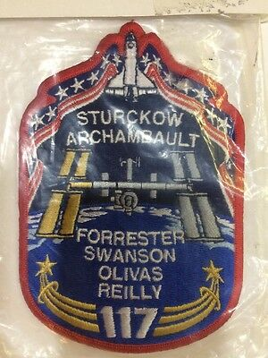 U.s astronaut hall of fame crest/ patch apollo 117 5 astronaut's names see pic