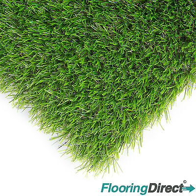 Artificial Grass Luxury 25mm Astro Turf Garden Realistic Natural Fake Lawn