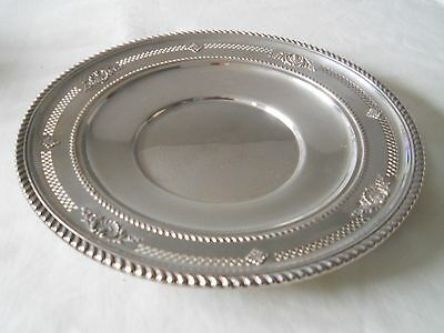 "Birks Sterling Dish Gardoon Edge 289 Grams 10"" D"