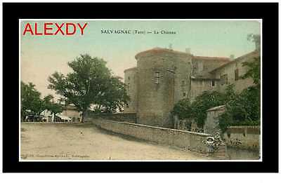 (PH2) NEW PHOTO-CPA 81 SALVAGNAC *** LE CHATEAU 1912 *** Edition Combres ép