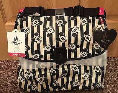 Babymel New Disney Store Exclusive Baby Diaper Bag Mickey Mouse Changing Pad