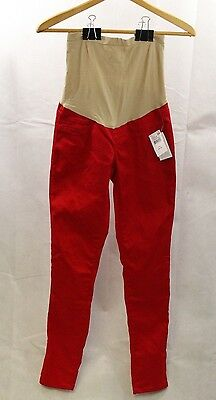 Motherhood Maternity Women Pants Red Size XS