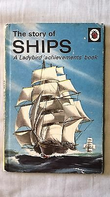 Ladybird Book - The Story of Ships, Series 601 (160190)