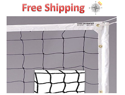 Quality Volleyball Net Professional Size Regulation Heavy Duty Thick  Sport Set