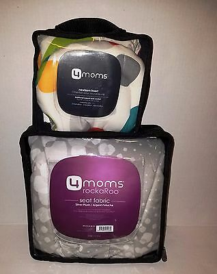 4moms Baby Bundle sale - Newborn insert & Rockaroo plush insert NEW
