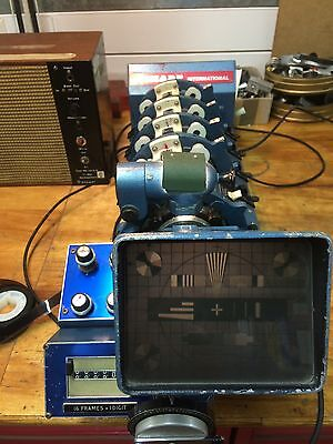 Analog Film & Sound Picture Sync Machine In Excellent Condition Serviced 16mm