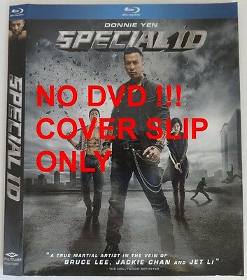No Discs !! Special Id Blu-Ray Cover Slip Only - No Discs !!         (Inv13290)