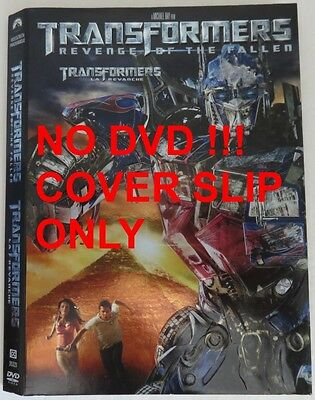 No Discs !! Transformers 3 Dvd Cover Slip Only - No Discs !!         (Inv13286)