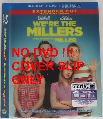 No Discs !! We're The Millers Blu-Ray Cover Slip Only - No Discs !!   (Inv13291)