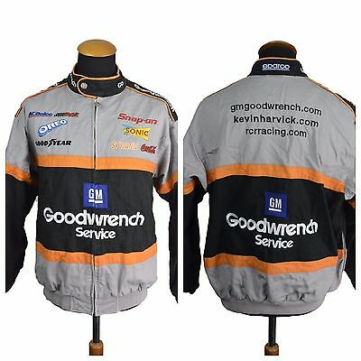 Chase Nascar Kevin Harvick Racing Jacket Size M-L Medium Goodwrench GM Goodyear