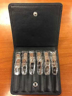 Brooks Brothers Silver Collar Stays Stainless Steel Set Of 18 Brand New 3 Length