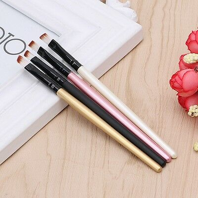 4Pc Professional Brush Eyeliner Eyebrow Brush Makeup Brushes Tool Angled Beauty