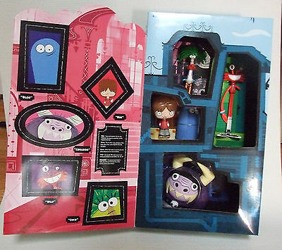 FOSTERS HOME FOR IMAGINARY FRIENDS TOY SET in house box NIB Original
