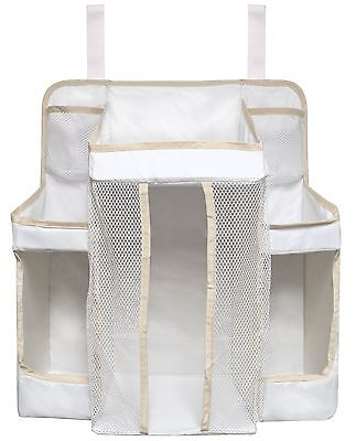 Dexbaby Diaper Caddy and Nursery Organizer for Baby's Essentials White one size
