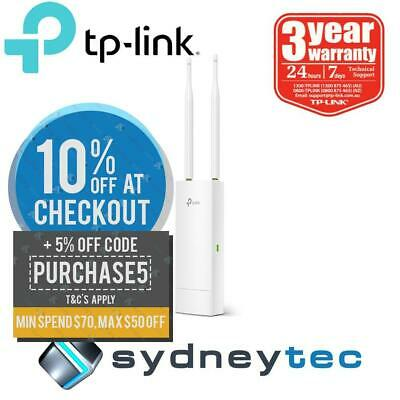 New TP-Link EAP110-Outdoor 300Mbps Wireless N Outdoor Access Point