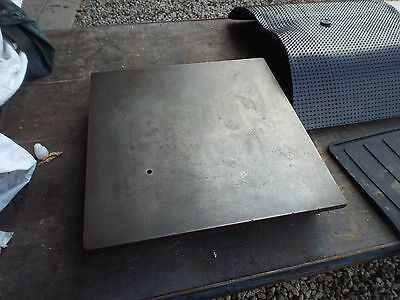 """CRITERION ENGINEERS LARGE CAST IRON SURFACE PLATE 18"""" x 18"""""""